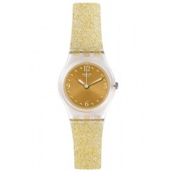 Swatch Ladies Watch Lady Golden Glistar Too LK382