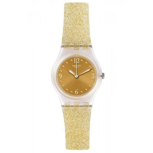 Buy Swatch Ladies Watch Lady Golden Glistar Too LK382