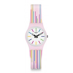 Swatch Ladies Watch Lady Pink Mixing LP155