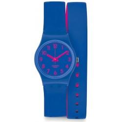Swatch Ladies Watch Lady Biko Bloo LS115