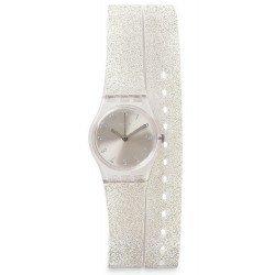 Buy Swatch Ladies Watch Lady Silver Glistar LK343