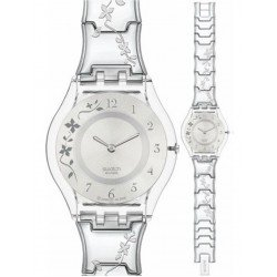 Swatch Ladies Watch Skin Classic Climber Flowery SFK300G