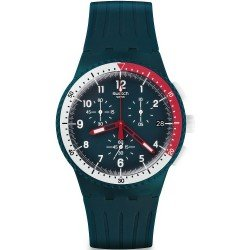 Swatch Men's Watch Chrono Plastic El Comandante SUSN405