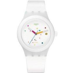 Buy Swatch Unisex Watch Sistem 51 Sistem White SUTW400 Automatic