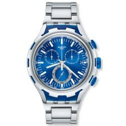 Swatch Men's Watch Irony Xlite Endless Energy Chronograph YYS4001AG