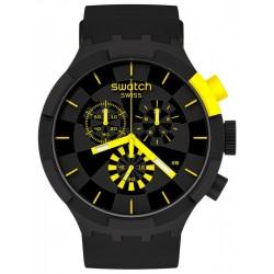 Swatch Watch Big Bold Chrono Checkpoint Yellow SB02B403