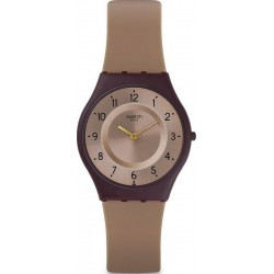 Swatch Ladies Watch Skin Classic Moccame SFC106
