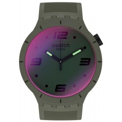 Swatch Watch Big Bold Futuristic Green SO27M105