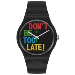 Swatch Unisex Watch New Gent Timefortime SO29B100