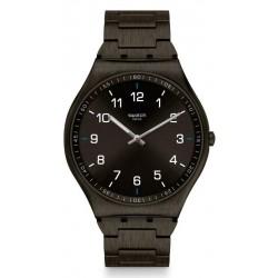 Swatch Men's Watch Skin Irony Skin Suit Black SS07B100G