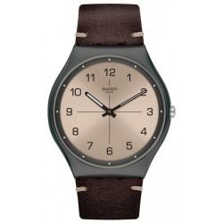 Swatch Men's Watch Skin Irony Time To Trovalize SS07M100