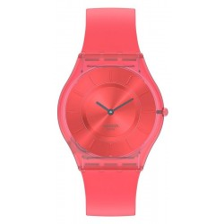 Swatch Ladies Watch Skin Classic Sweet Coral SS08R100