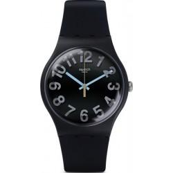 Swatch Unisex Watch New Gent Secret Numbers SUOB133