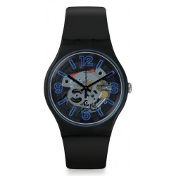 Swatch Men's Watch New Gent Blueboost SUOB165