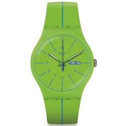 Swatch Unisex Watch New Gent Verde Azul SUOG707