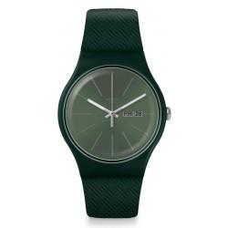 Swatch Unisex Watch New Gent Khakitex SUOG710