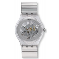 Swatch Unisex Watch New Gent Cleared Up S SUOK105FB