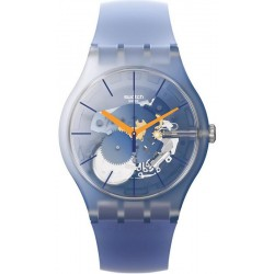 Swatch Unisex Watch New Gent All That Blues SUOK150