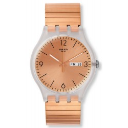 Swatch Unisex Watch New Gent Rostfrei L SUOK707A