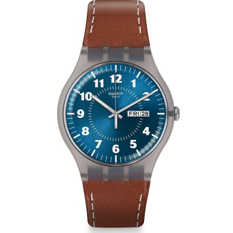 be1fc1093686 Swatch Men s Watch New Gent Vent Brulant SUOK709 - New Fashion Jewels