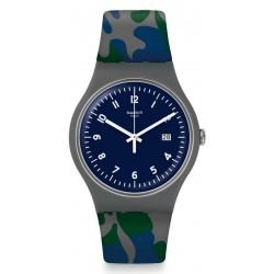Swatch Unisex Watch New Gent Camougreen SUOM400