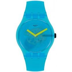 Swatch Unisex Watch New Gent Ocean Blur SUOS112