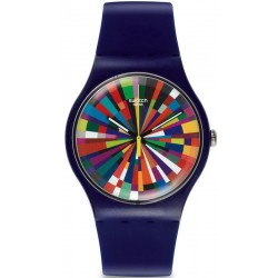 Swatch Unisex Watch New Gent Color Explosion SUOV101