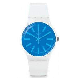 Buy Swatch Unisex Watch New Gent Glaceon SUOW163