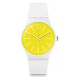 Swatch Unisex Watch New Gent Lemoneon SUOW165