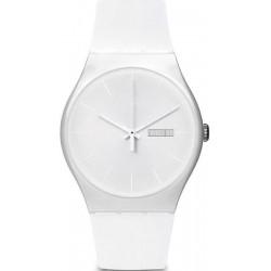 Swatch Unisex Watch New Gent White Rebel SUOW701