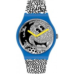 Swatch Mickey Mouse Watch Eclectic Mickey SUOZ336