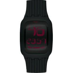 Buy Swatch Men's Watch Digital Touch Night SURB102