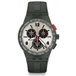 Buy Swatch Men's Watch Chrono Plastic Verdone SUSG405