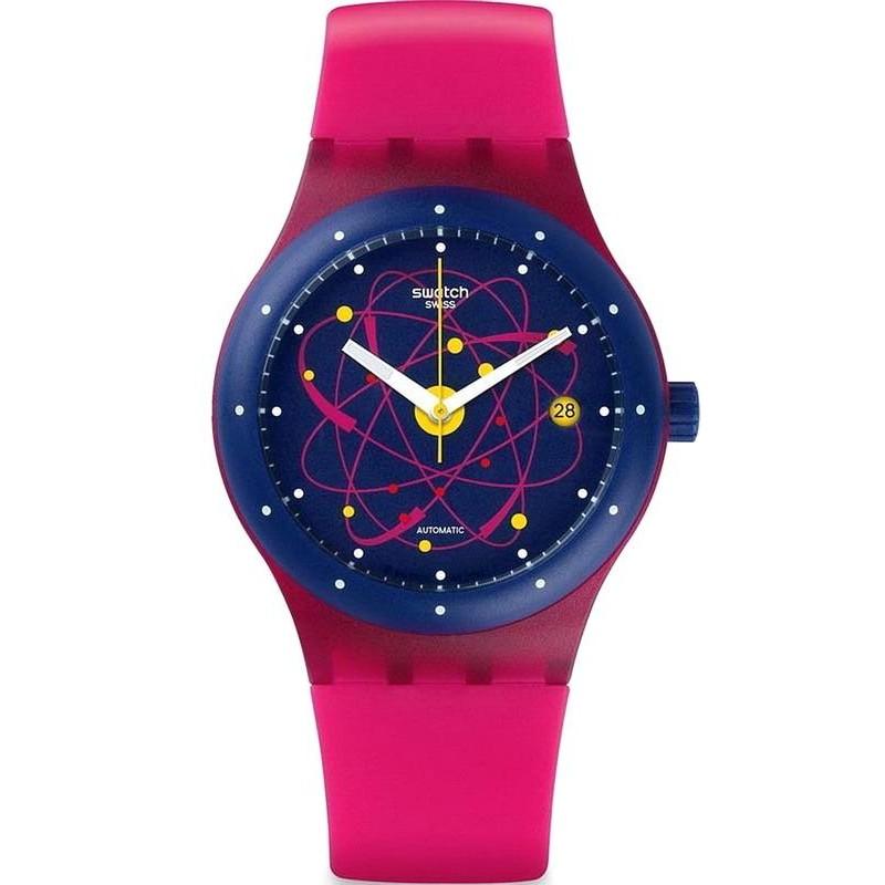Swatch Unisex Watch Sistem51 Sistem Pink Sutr401 Automatic