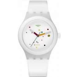Buy Swatch Unisex Watch Sistem51 Sistem White Automatic SUTW400