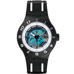 Swatch Men's Watch Scuba Libre Feel The Sea SUUB101