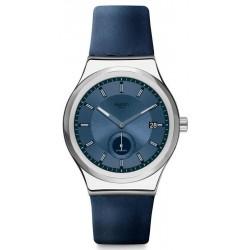 Swatch Unisex Watch Irony Sistem51 Petite Seconde Blue Automatic SY23S403