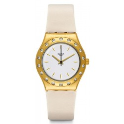 Swatch Ladies Watch Irony Medium Linusa YLG137