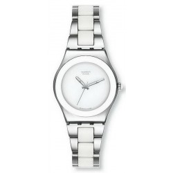 Swatch Ladies Watch Irony Medium Tresor Blanc YLS141GC