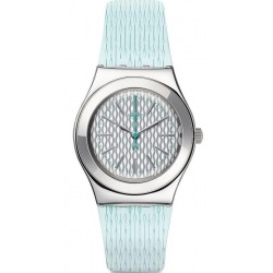 Swatch Ladies Watch Irony Medium Mint Halo YLS193