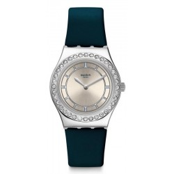 Swatch Ladies Watch Irony Medium Bluechic YLS211