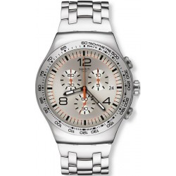 Buy Swatch Men's Watch Irony Chrono Shiny Addict YOS445G
