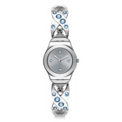 Swatch Ladies Watch Irony Lady Silver Hug YSS332G