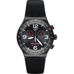 Buy Swatch Men's Watch Irony Chrono Black Is Back YVB403