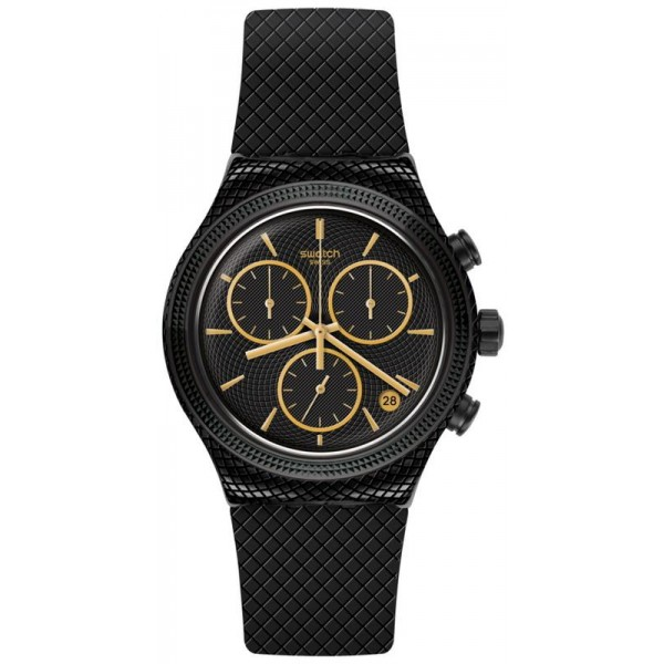 Buy Swatch Unisex Watch Irony Chrono Crazy For Precious YVB408
