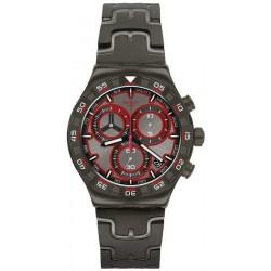 Swatch Men's Watch Irony Chrono Crazy Drive YVM406G