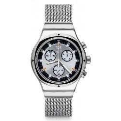 Swatch Unisex Watch Irony Chrono TV Time YVS453M