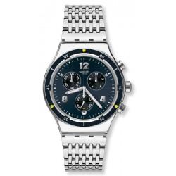 Swatch Men's Watch Irony Chrono Meshme YVS457G