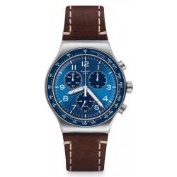 Swatch Men's Watch Irony Chrono Casual Blue YVS466