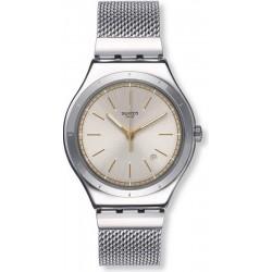 Buy Swatch Men's Watch Irony Big Classic Mesh-Up YWS419G